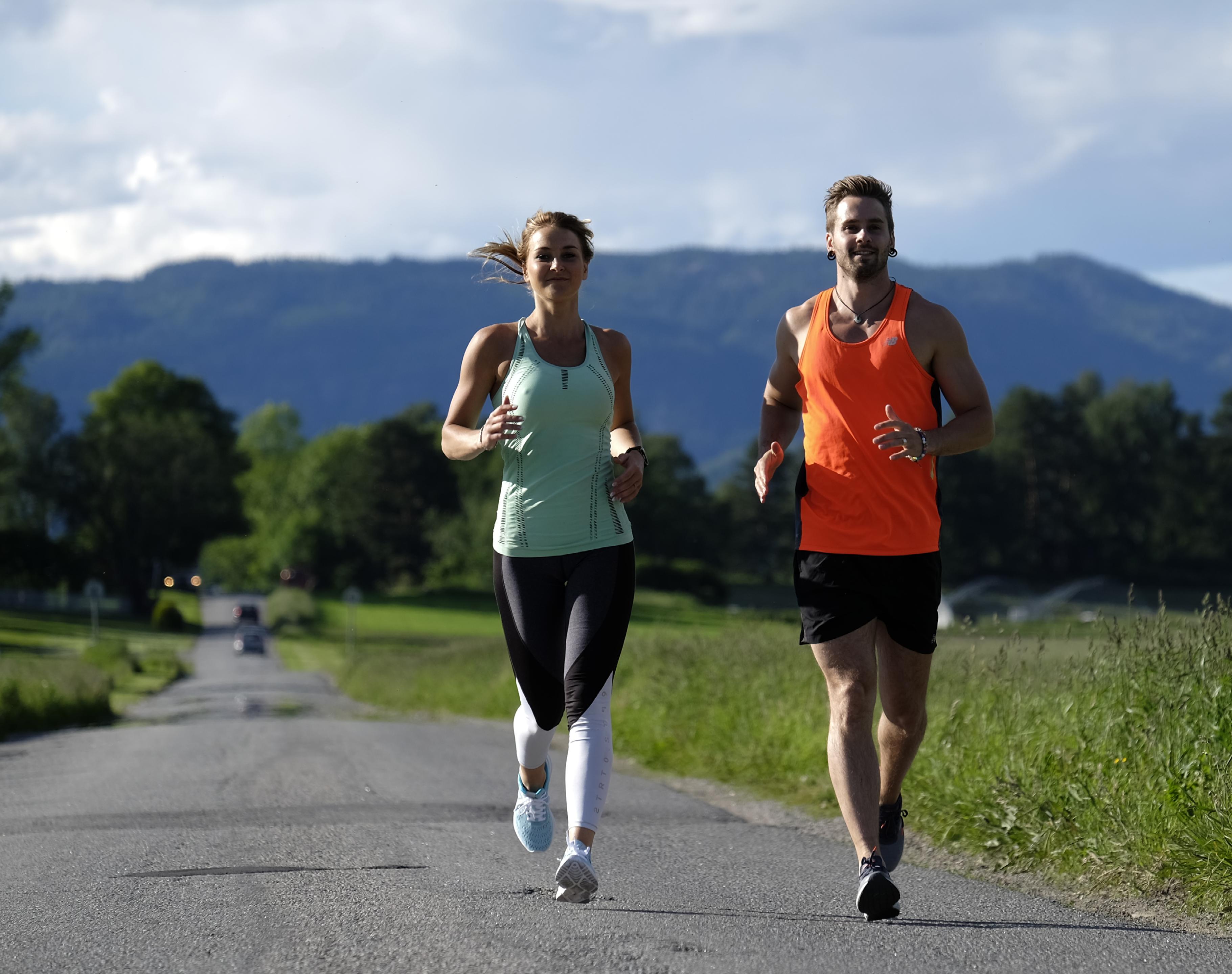 Gå ned i vekt på 10 dager, Marianne og Axel Løper
