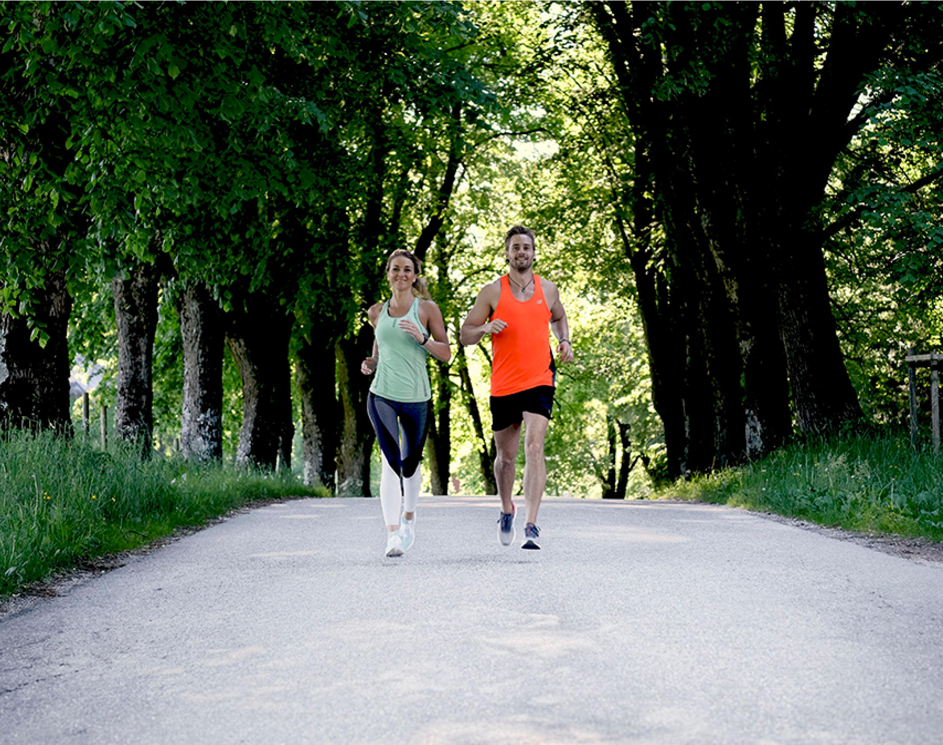 Gratis treningsprogram Axel og Marianne løper